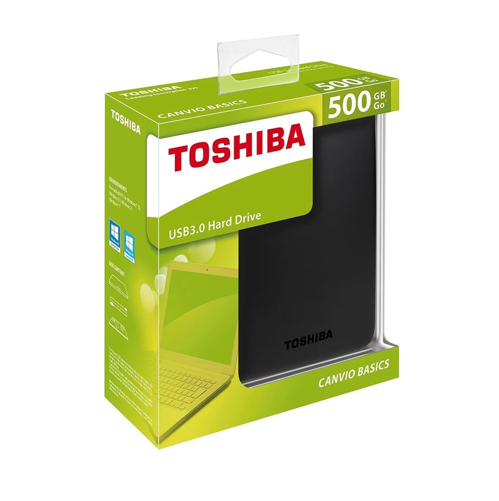 Ổ cứng di động Toshiba Canvio Ready 500Gb USB3.0 Đen