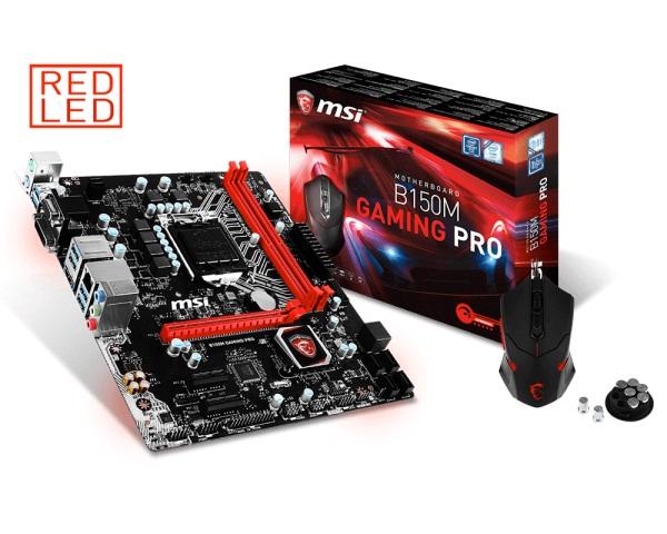 MSI B150M GAMING PRO (Chipset Intel B150/ Socket LGA1151/ VGA onboard)