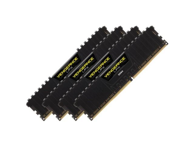 RAM Corsair 16Gb (4x4Gb) DDR4-2666- CMK16GX4M4A2666C16
