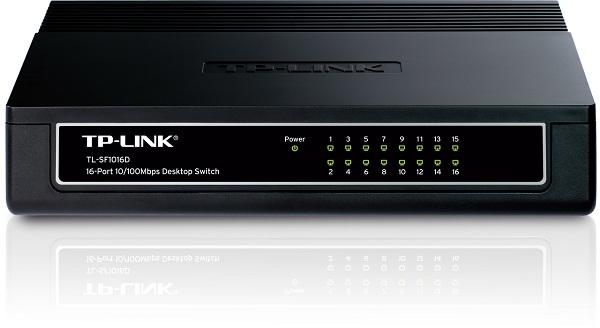 Thiết bị chia mạng TP-Link TL-SF1016D