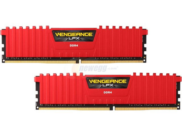 RAM Corsair 8Gb (2x4Gb) DDR4-2133- CMK8GX4M2A2133C13/R