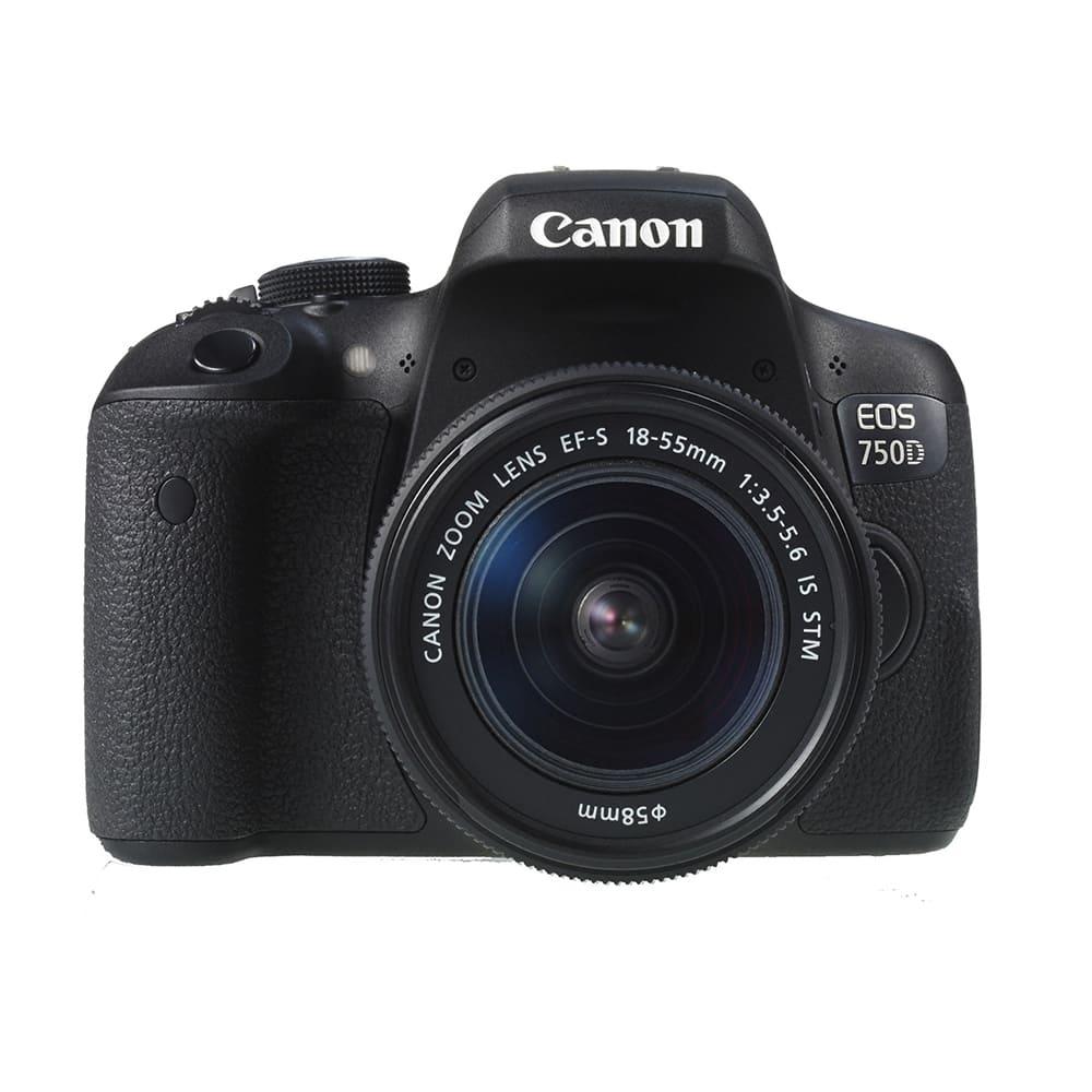 Máy ảnh KTS Canon EOS 760D 1855  - Black