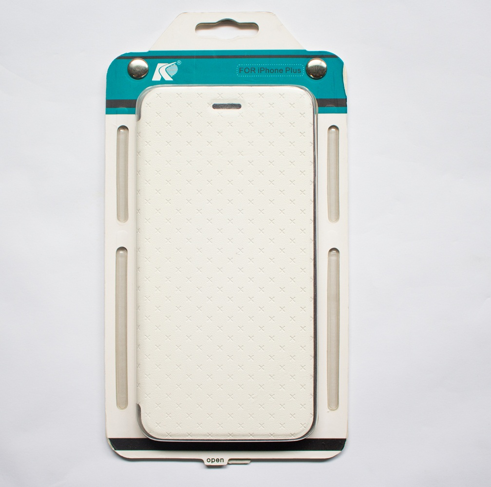 Ốp lưng ĐTDĐ dạng cover iPhone 6/6s Plus Xfigured  (White)