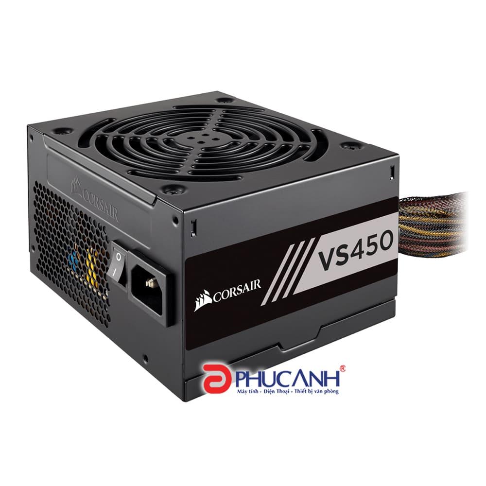 Nguồn PC Corsair ATX VS450 - 80 Plus