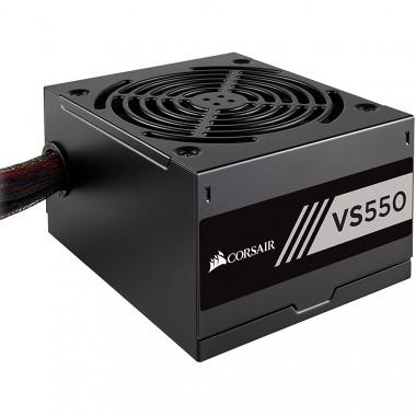 Nguồn PC Corsair ATX VS550 - 80 Plus
