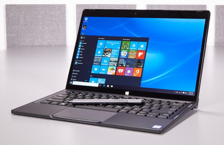 Laptop Dell XPS12 - TXTYT1 (Black)- siêu mỏng, 2 trong 1, vỏ nhôm