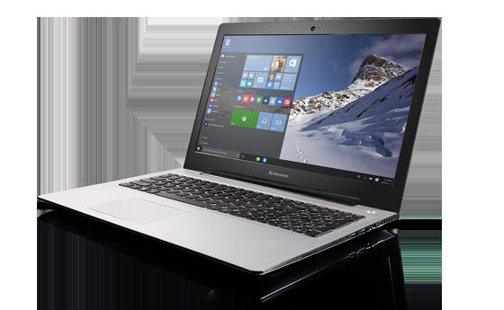 Laptop Lenovo 500S-80Q2001QVN (White)- Vỏ nhôm cao cấp, mỏng, nhẹ