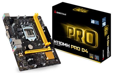 Biostar H110MH PRO (Chipset Intel H110/ Socket LGA1151/ VGA onboard)