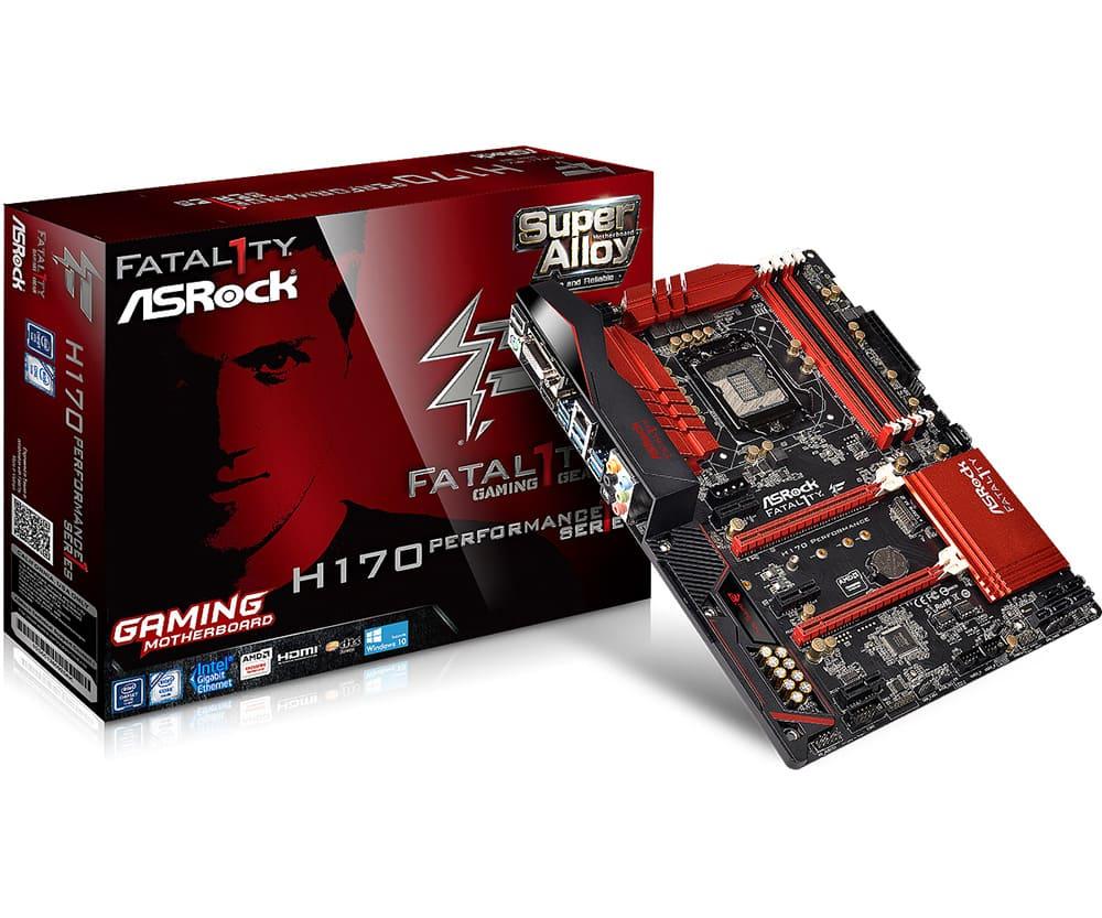 Asrock H170 Performance (Chipset Intel H170/ Socket LGA1151/ VGA onboard)