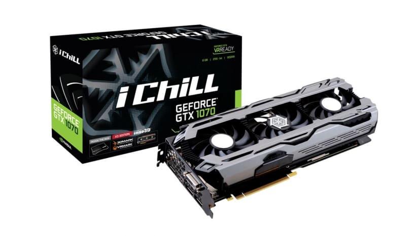 Inno3D GTX1070 iChill X3 8Gb (NVIDIA Geforce/ 8Gb/ DDR5/ 256Bit)