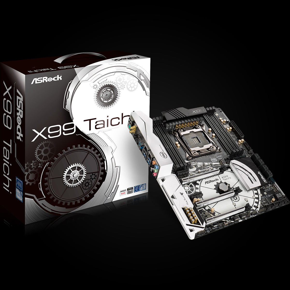 Main Asrock X99 Taichi (Chipset Intel X99/ Socket LGA2011-3/ Không)