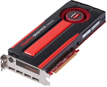 FirePro W8000 (NVIDIA Geforce/ 4Gb/ DDR5/ 256 Bit)