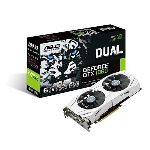 Asus GTX1060-DUAL-6G (NVIDIA Geforce/ 6Gb/ DDR5/ 192Bit)