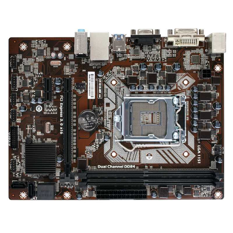 Colorful C.H110M-K Plus V20 (Chipset Intel H110/ Socket LGA1151/ VGA onboard)