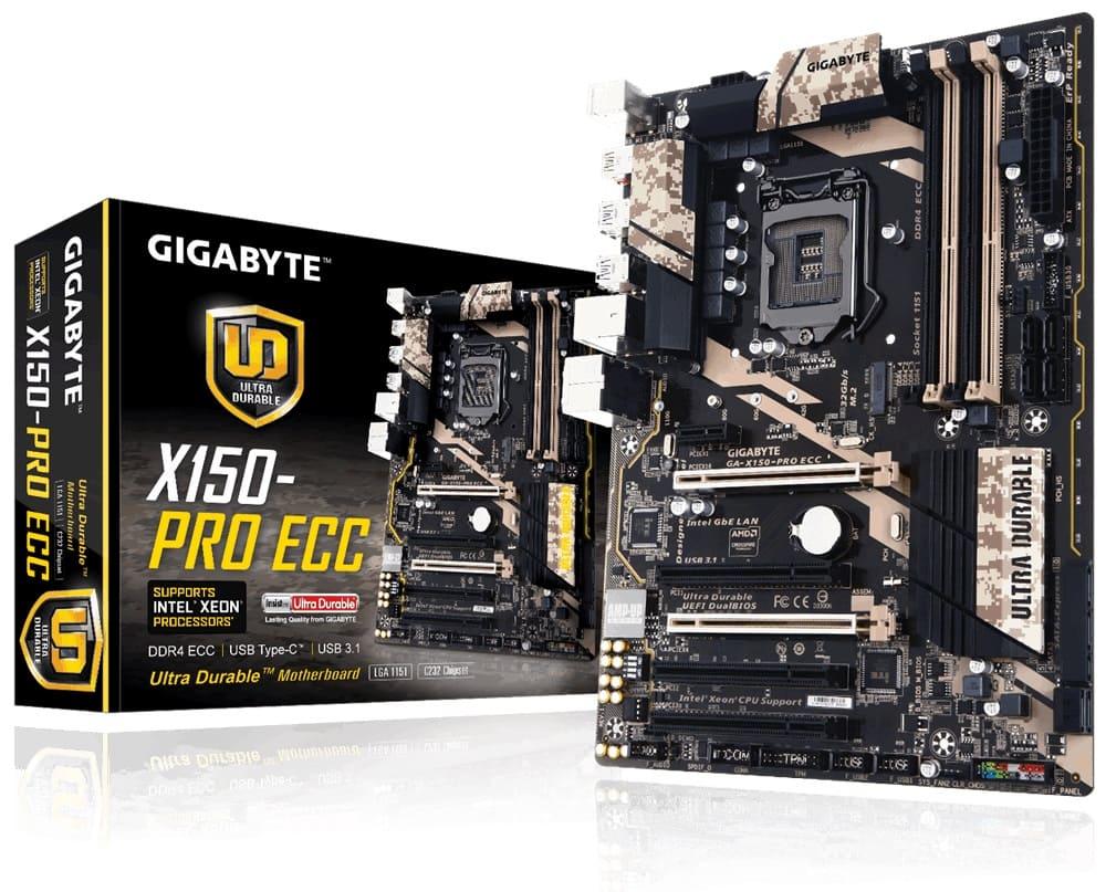 Gigabyte X150-PRO ECC (Chipset Intel C232/ Socket LGA1151/ Không)