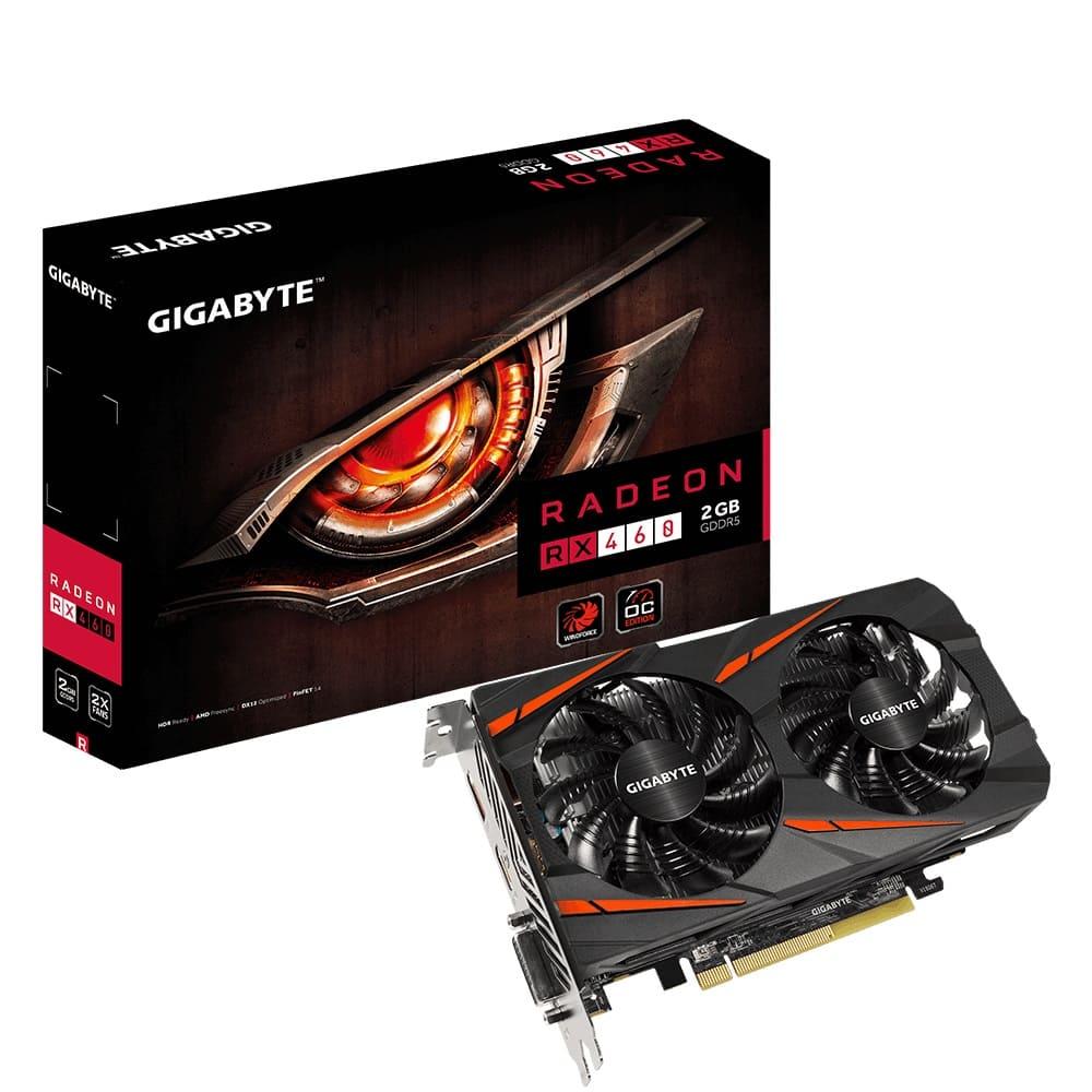 VGA Gigabyte RX460WF2OC-2GD (AMD Radeon/ 2Gb/ DDR5/ 128 Bits)