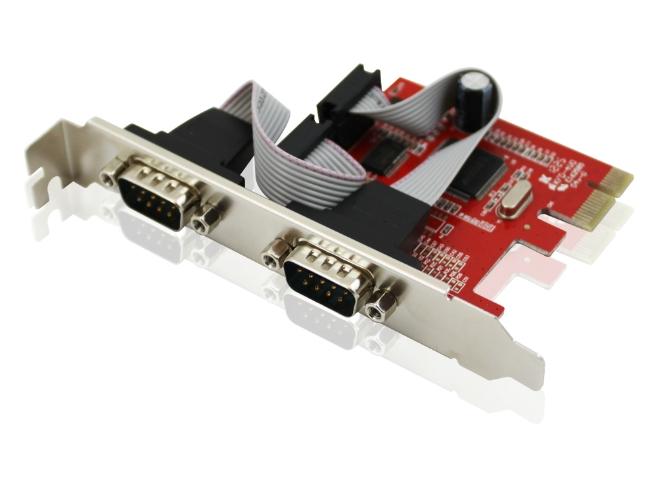 Cạc chuyển đổi Unitek từ PCI Express 1X sang 2COM(RS232)
