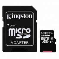 Thẻ nhớ Micro SD Kingston 128Gb Class 10 80MB/s (kèm Adapter)