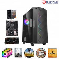 Máy tính để bàn PCPA AMD-R3/8G/240G/RX5704G