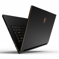 Laptop MSI GS65 Stealth 9SE 1000VN (i7-9750H/16GB/512GB SSD/15.6FHD/RTX2060 6GB/Win10/Black/Balo)