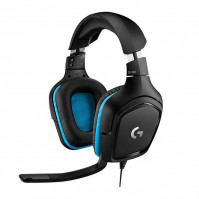 Tai nghe Logitech G431 7.1 Surround Sound Gaming Headset (Black)