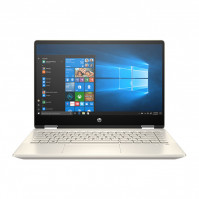 Laptop HP Pavilion x360 14-dw0060TU 195M8PA (i3-1005G1/4GB/256GB SSD/14FHD TouchScreen/VGA ON/Win10+Office Home & Student/Gold/Pen)