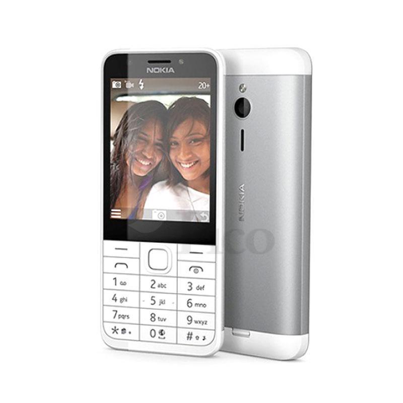 Nokia 230 (Trắng bạc)- 2.8Inch/ 2 sim