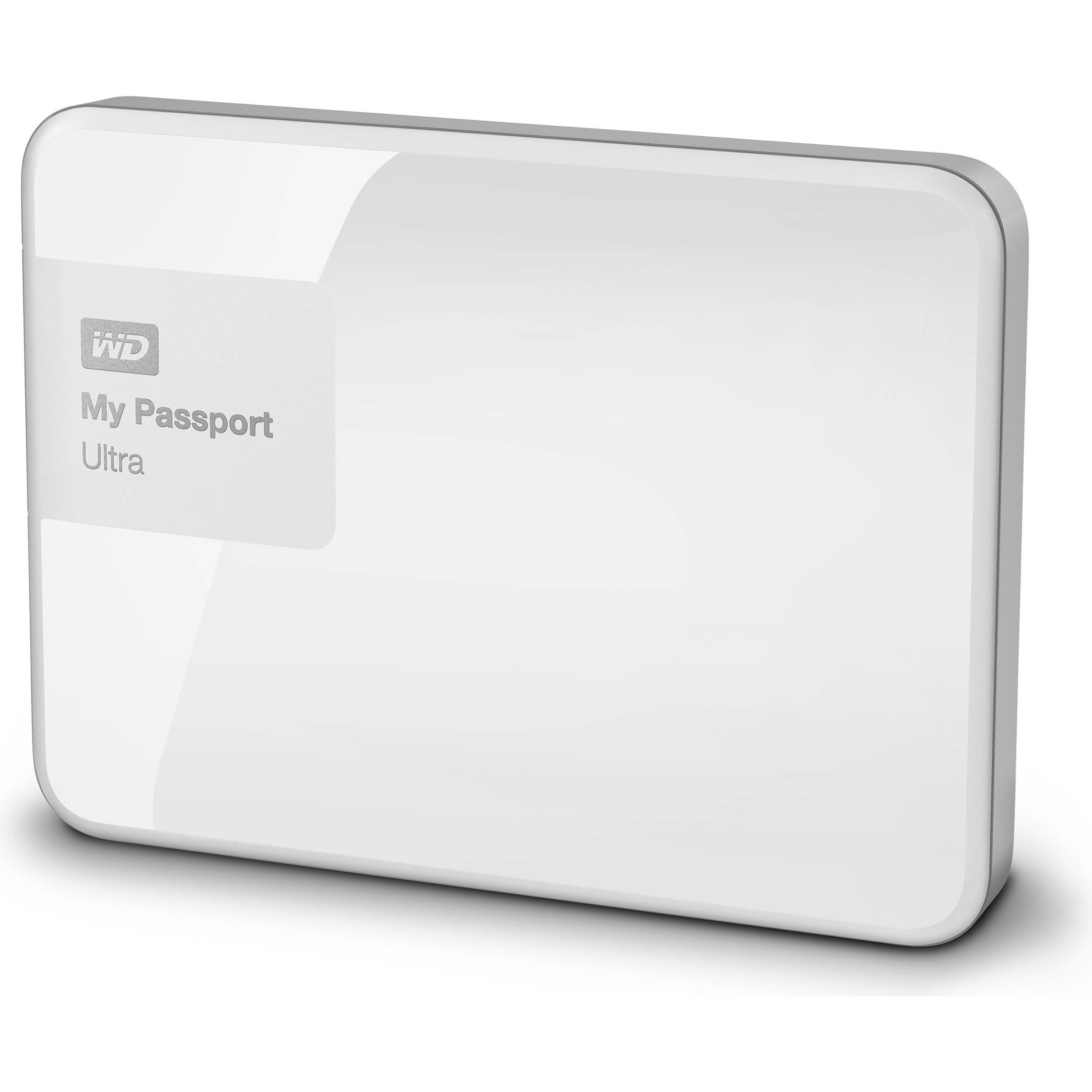 Ổ cứng di động Western Digital Ultra 4Tb USB3.0 White
