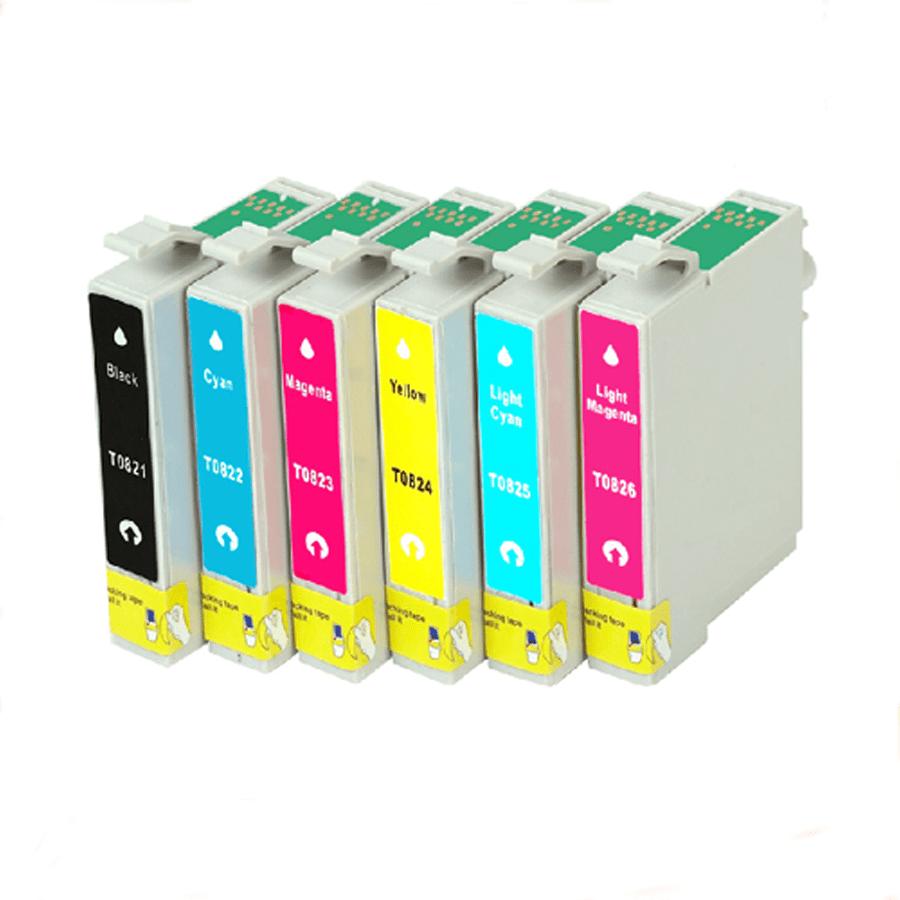 Mực hộp máy in phun Epson T0823 - Dùng cho máy in Epson T50