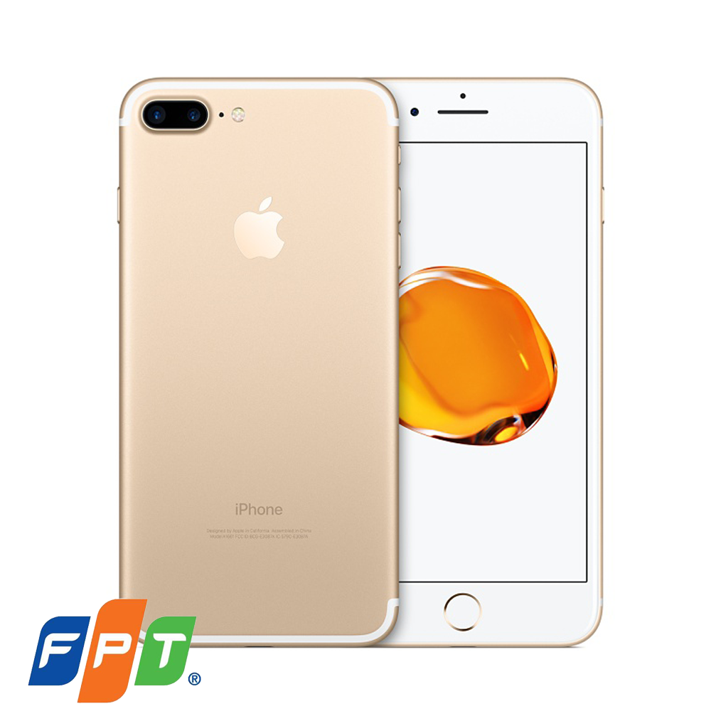 Apple iPhone 7 Plus (Gold)- 5.5Inch/ 128Gb/ 1 sim (Hàng FPT)