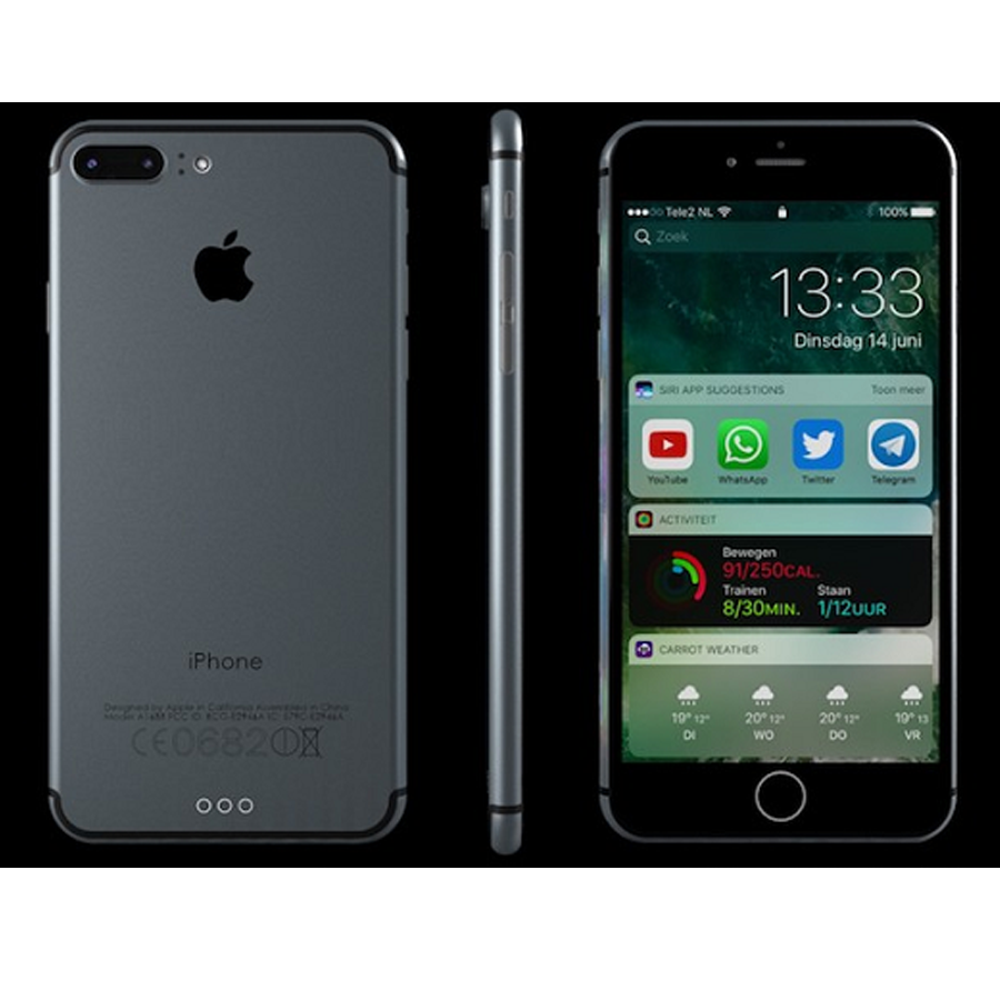 Apple iPhone 7 Plus 128Gb (Black)- 5.5Inch (Chính hãng)