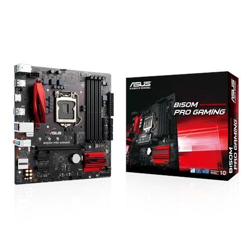 Main Asus B150M-Pro Gaming (Chipset Intel B150/ Socket LGA1151/ VGA onboard)