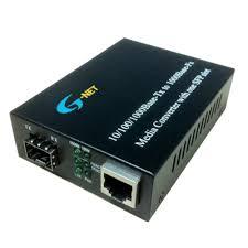 Bộ chuyển đổi quang điện Gnet HHD-220G-10 Single Mode