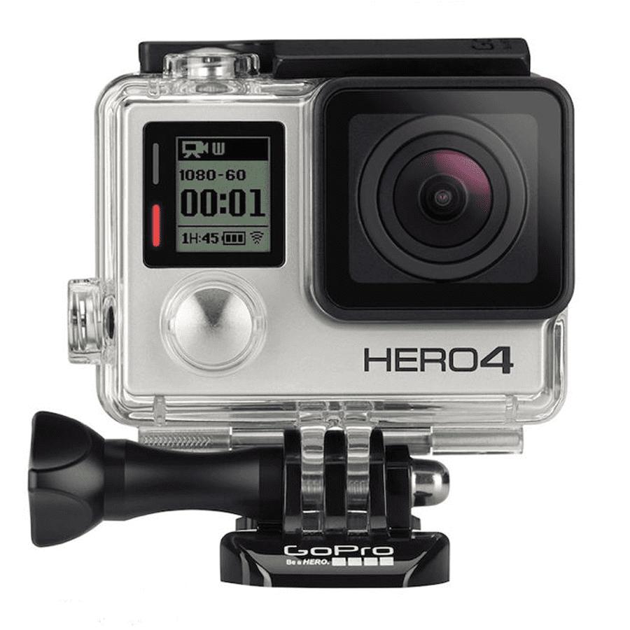 Máy quay hành trình GoPro hành trình HERO4 - Silver (BH tại hãng)