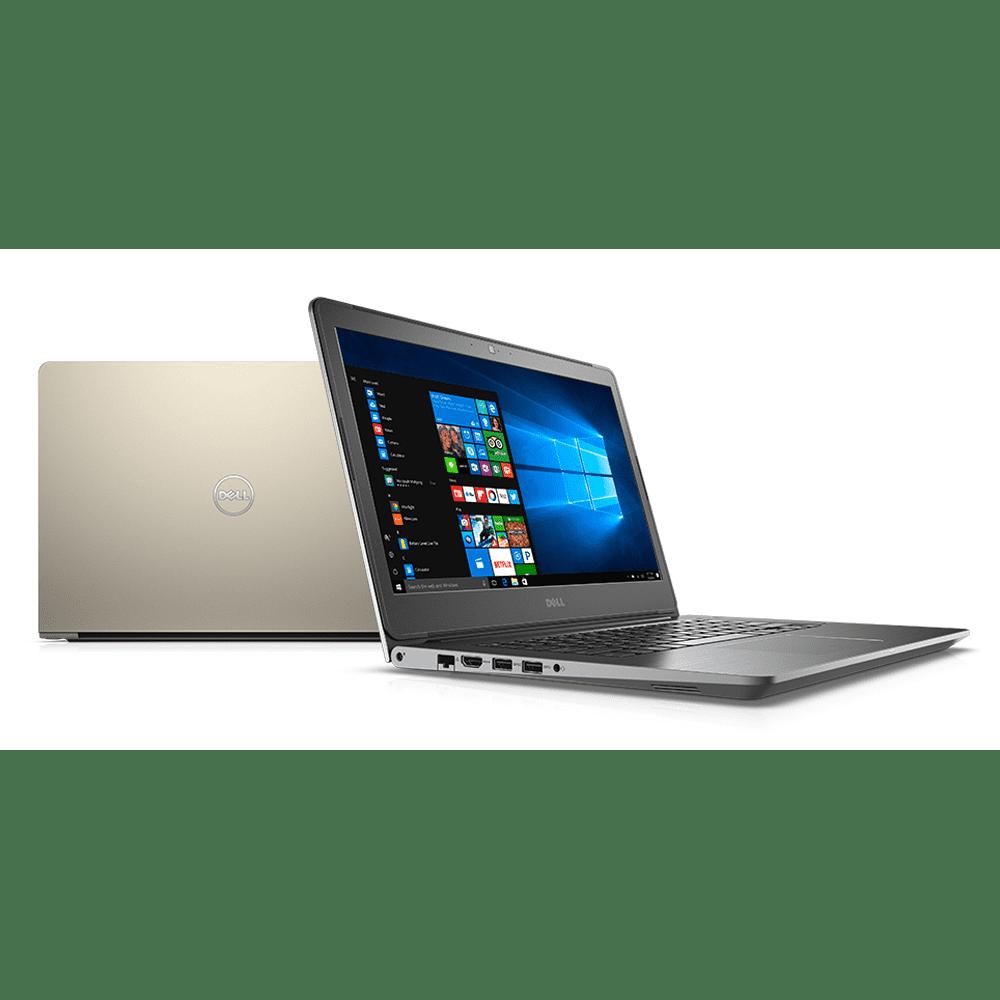 Laptop Dell Vostro 5468-70087067 (Gold/vỏ nhôm)- CPU Kabylake, vỏ nhôm