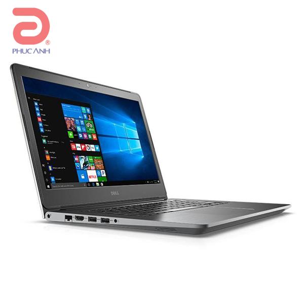 Laptop Dell Vostro 5468-VTI5019W (Grey/vỏ nhôm)- CPU Kabylake,vỏ nhôm