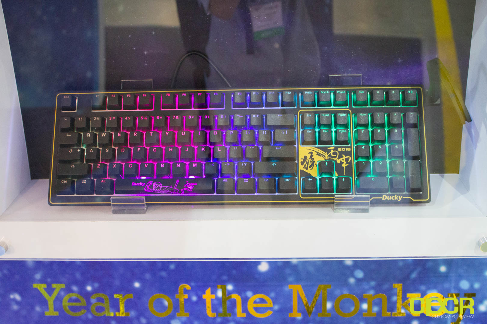 Bàn phím cơ Ducky Year of the Monkey Limited Edition Brown switch