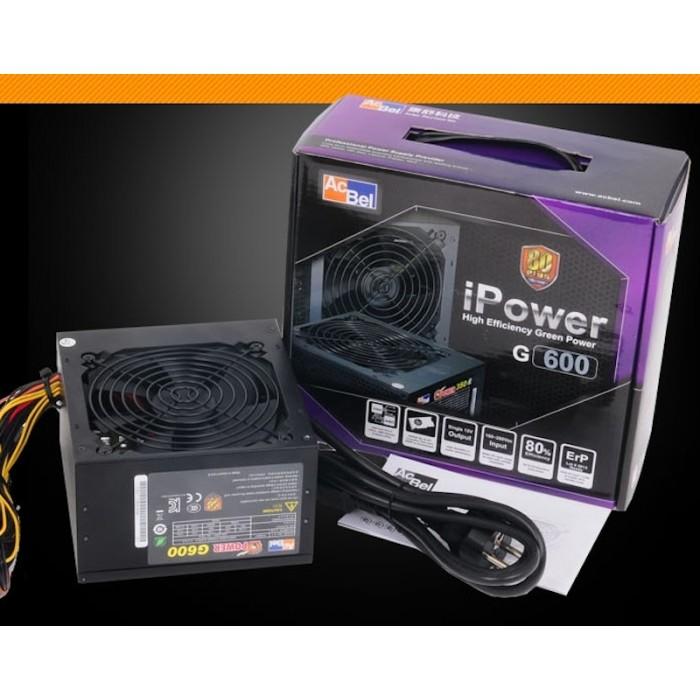 Nguồn Acbel I-POWER G600 600W - 80 Plus