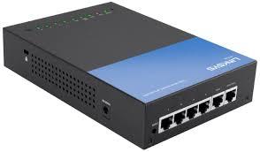 Thiết bị cân bằng tải Linksys LRT224 Business Gigabit VPN Router