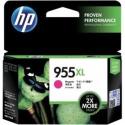 Mực hộp máy in phun HP 955 Magenta Original (L0S54AA) - Dùng cho máy HP OJ Pro 8210 Printer(D9L63A), HP OJ Pro 8710 All - In - One Printer(D9L18A),HP OJ Pro 8720  All - In - One Printer(D9L19A)