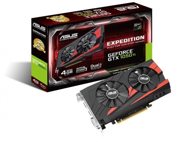 Asus EX-GTX1050TI-4G (NVIDIA Geforce/ 4Gb/ DDR5/ 128 Bits)