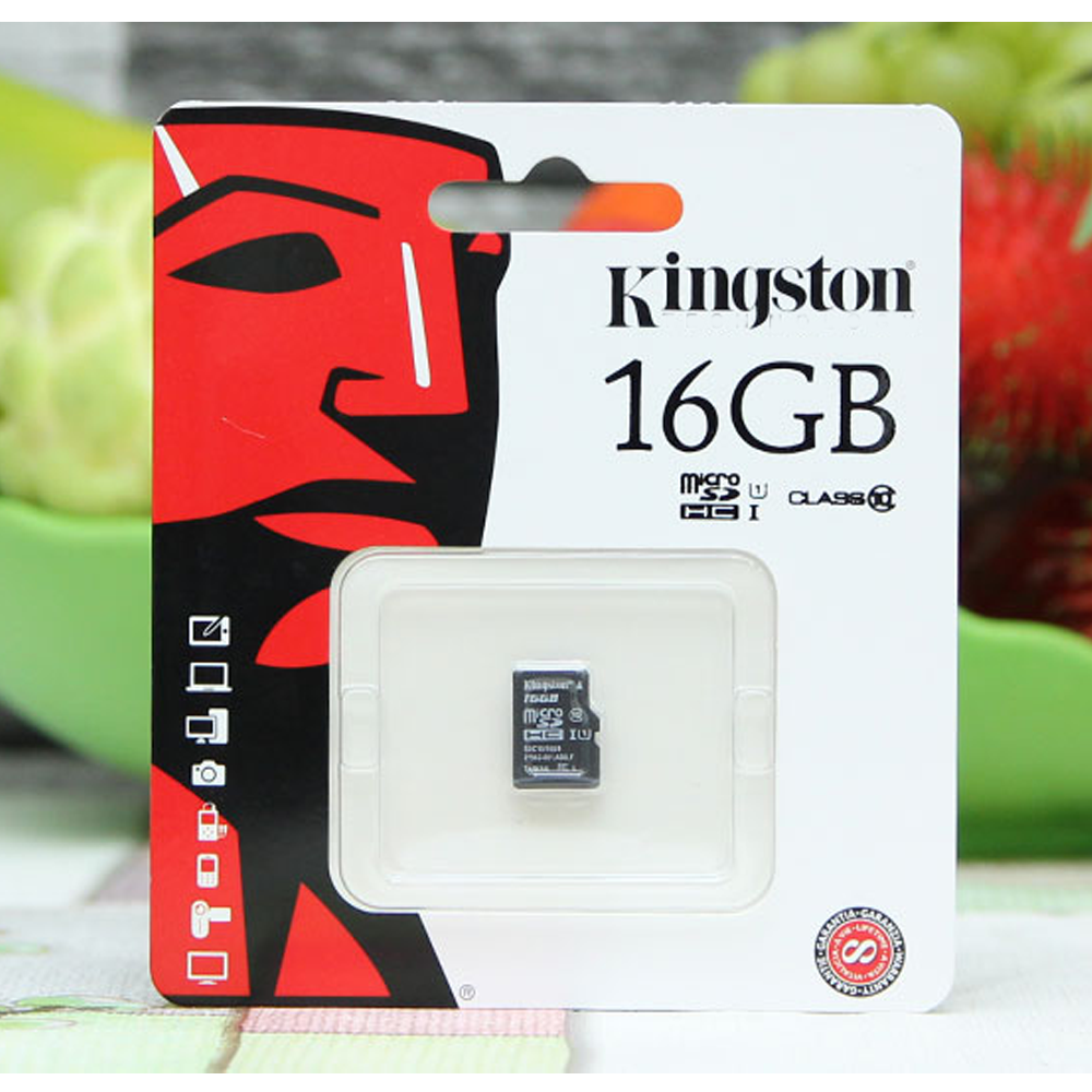 Thẻ nhớ SD Kingston 16Gb Class 10