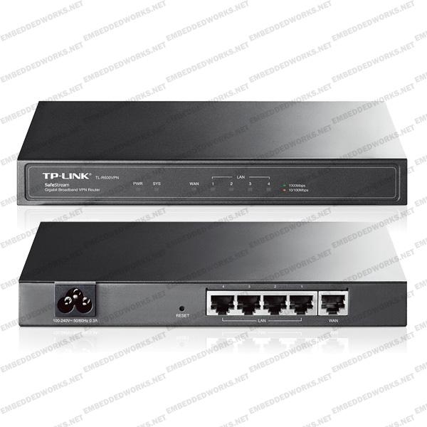 Thiết bị  VPN Router  TP-Link TL-R600VPN