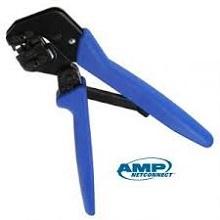Kìm bấm mạng  Commscope/AMP 790163-5 cat6 (Hand Tool,w/Die Set,Cat6,RJ45 Mod Plug,OD 6-7 mm, hàng chính hãng)
