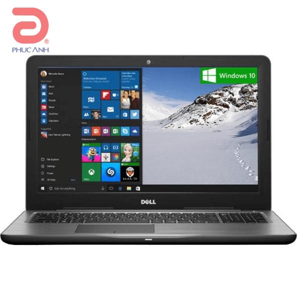 Laptop Dell Inspiron 5567-70087403 (Grey)- Intel Kabylake hoàn toàn mới,Windows 10 bản quyền