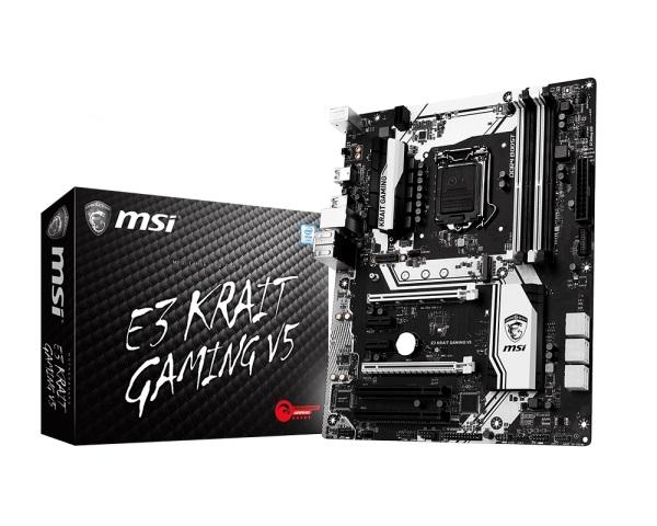 MSI E3 KRAIT GAMING V5 (Chipset Intel C232/ Socket LGA1151/ Không)