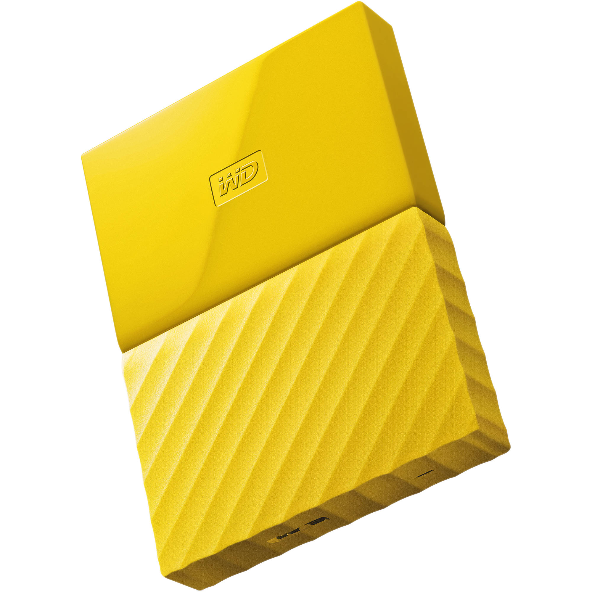Ổ cứng di động Western Digital My Passport 1Tb USB3.0 New - Vàng