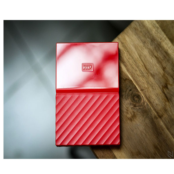 Ổ cứng di động Western Digital My Passport 3Tb USB3.0 New - Đỏ
