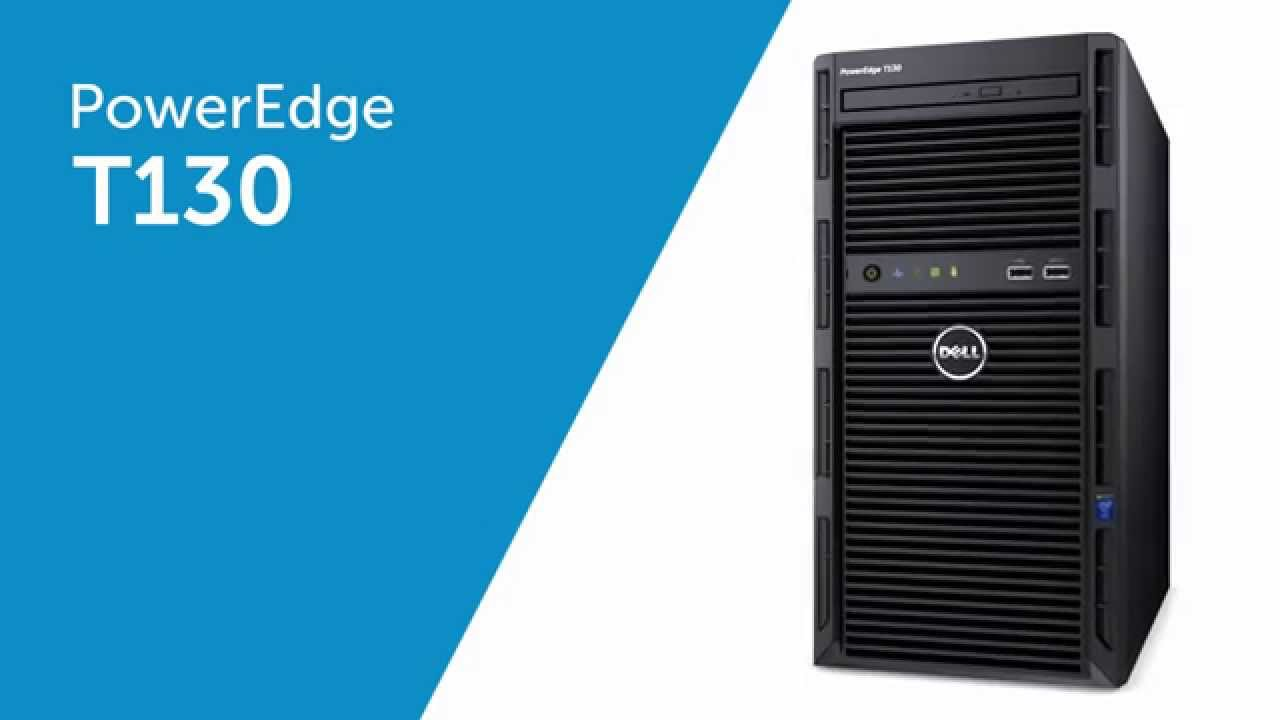 Máy chủ Dell PowerEdge T130 E3-1220 v6 HDD 1Tb/Ram 16Gb