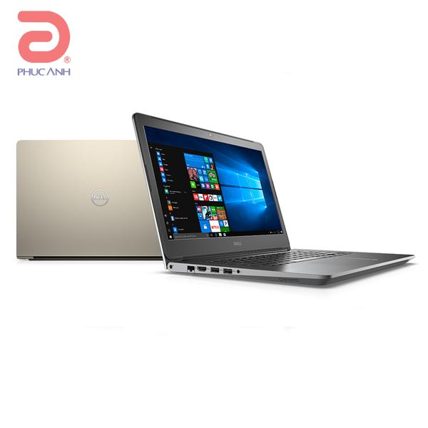 Laptop Dell Vostro 5468-VTI35008W (Gold)- vỏ nhôm, CPU kabylake thế hệ mới